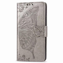 Load image into Gallery viewer, 2021 Luxury Embossed Butterfly Leather Wallet Flip Case For Samsung A40