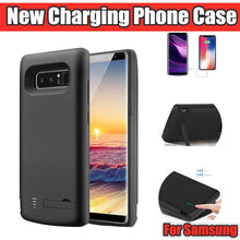 Load image into Gallery viewer, Luxury Charging Extended Battery Holder Phone Case For Samsung