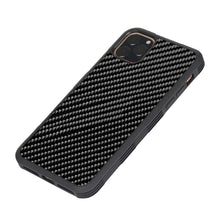 Load image into Gallery viewer, Real Carbon Fiber ARMOR Series Phone Case For iPhone
