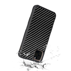 Real Carbon Fiber ARMOR Series Phone Case For iPhone