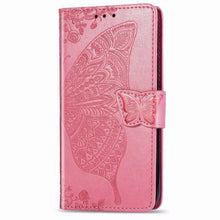 Load image into Gallery viewer, 2021 Luxury Embossed Butterfly Leather Wallet Flip Case For Samsung A71