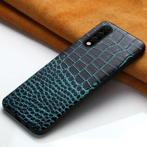Luxury Genuine Leather Case For Samsung
