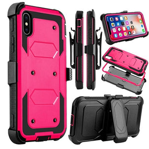 For iPhone 7 8 Plus Case Heavy Duty Protection Shock Reduction Bumper Case for iphoneX 6 6s plus outdoor Armor waterproof case