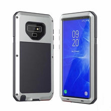 Load image into Gallery viewer, Luxury Doom Armor Waterproof Metal Aluminum Samsung Phone Case With FREE Tempered Glass