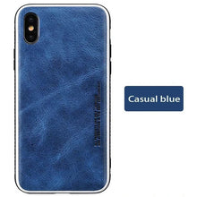 Load image into Gallery viewer, Genuine Leather Business fashion  protective case for iPhone