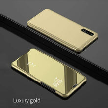 Load image into Gallery viewer, Luxury Flip Protection Full Screen Smart Window Cover For SAMSUNG A50