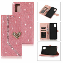 Load image into Gallery viewer, 2020 New Style Leather Wallet Flip Phone Case For Samsung A71 5G