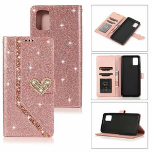 2020 New Style Leather Wallet Flip Phone Case For Samsung A71 5G