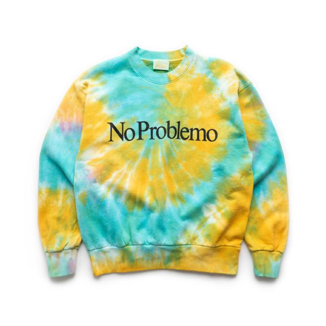 Aries No Problemo Tie Dye Sweat