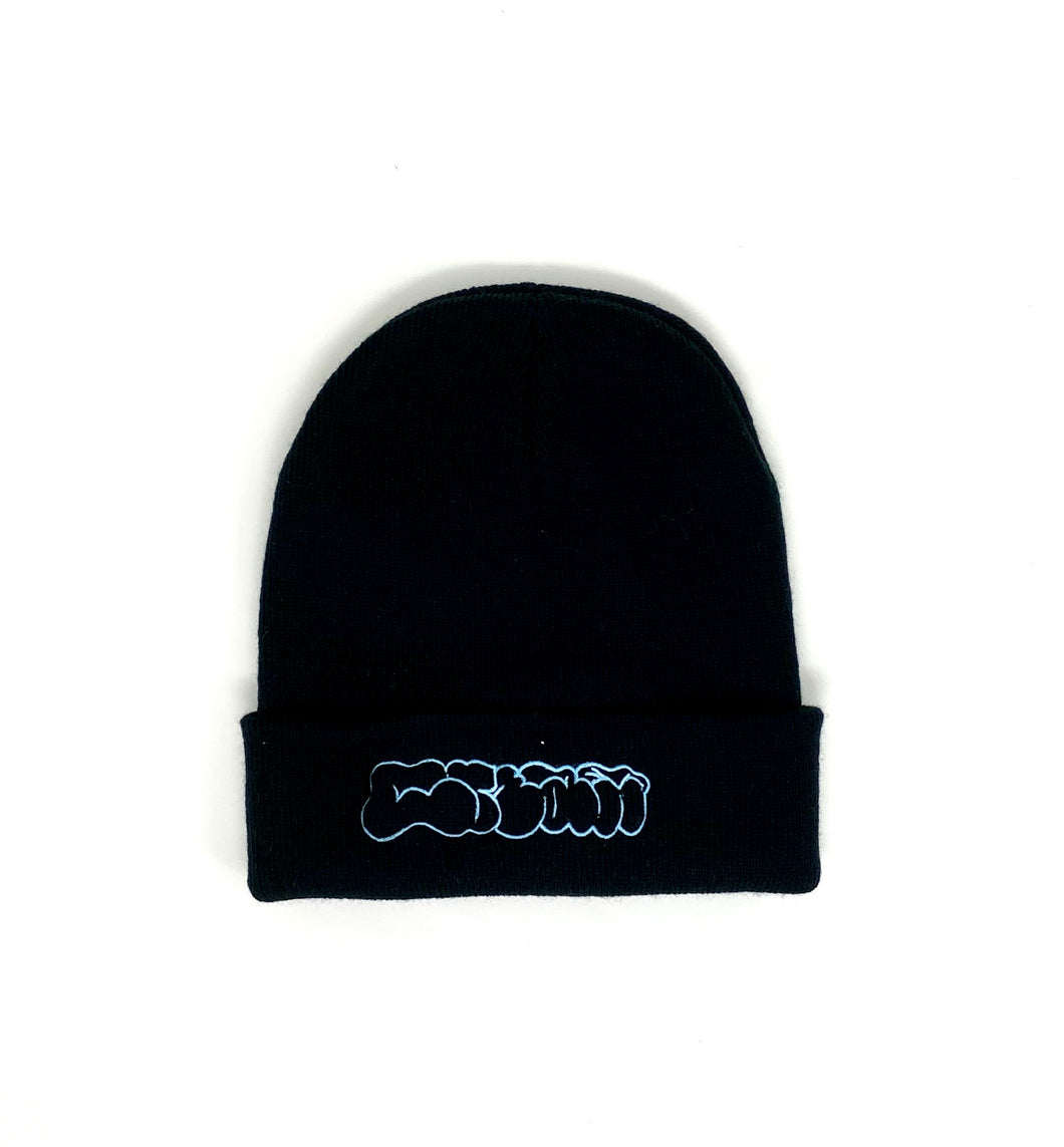 CREAM Throw-Up Beanie