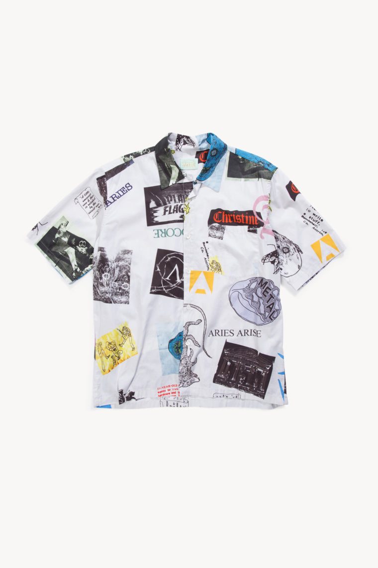 Aries Thrasher Hawaiian Shirt