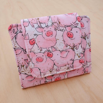 Katie Piglets Mini Wallet