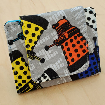 Exterminate! Doctor Who Dalek Mini Wallet