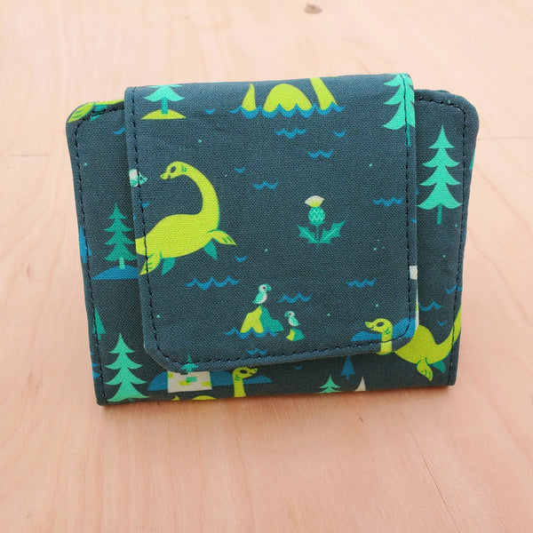 Loch Ness Monster Nessie Mini Wallet