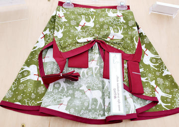 Reindeer Pin-up Apron