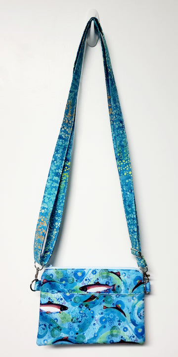 Dawn Geherety Salmon Crossbody Purse