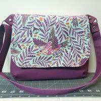 The Sparrows Are Flying Mini Messenger Purse