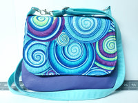 Tracing The Wind Mini Messenger Purse **Custom order for Shanlee Meissner**