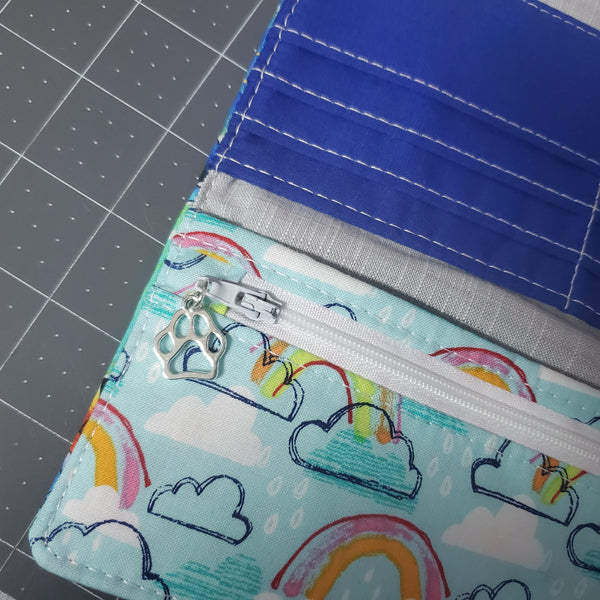 Stitch wallet -- Custom Order for Kristin D.