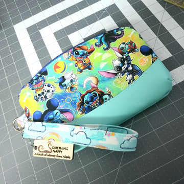 Stitch Wristlet -- Custom order for Kristin D.