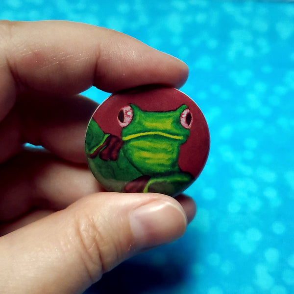 Why hello there frog buttons