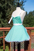 Mint Green Arrow Pin-up Apron