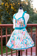 Cats and Dogs Pin-up Apron