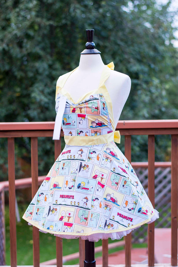 Peanuts Pin-up Apron
