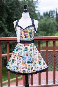 Classic Mickey Pin-up Apron