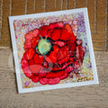 """Poppy Dots"" poppy stickers"