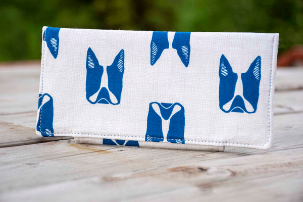 """The Howie"" Boston Terrier wallet"