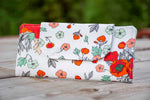 Field of Poppies Floral Wallet
