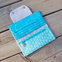 Puffin Love (Blue) Wallet