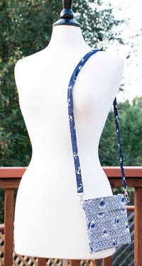 Great White Shark Do-Do-Do Crossbody Purse