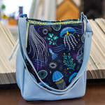 Jellyfish Fields Hobo Purse