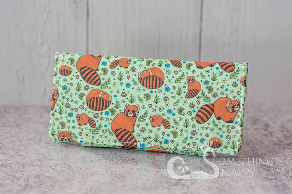 Red Pandamonium Wallet