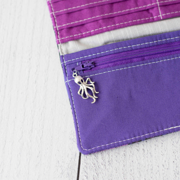 Tangled Tentacles (Purple) Wallet