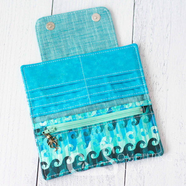Tangled Tentacles (Aqua) Wallet