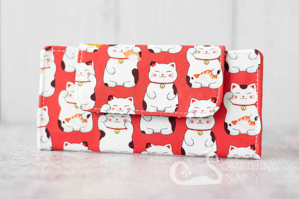 Maneki-Neko Bento Box Wallet