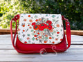 Field of Poppies Mini Messenger Purse