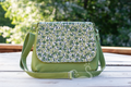 Olive Branch Mini Messenger Purse