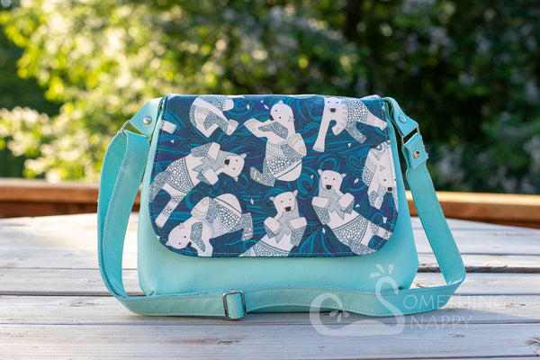 Polar Bear Plunge Mini Messenger Purse