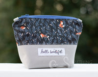 Hello Beautiful Cosmetic Bag - Pixie Size