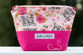 **Custom order for Jackie Mayo** Hello Beautiful Cosmetic Bag - Dragon Size