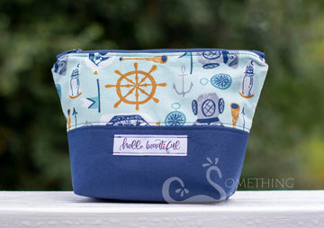 Hello Beautiful Cosmetic Bag - Mermaid Size