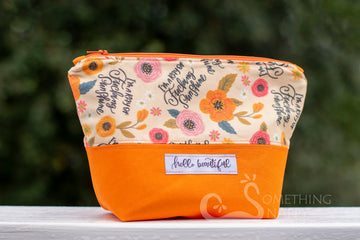 Hello Beautiful Cosmetic Bag - Dragon Size