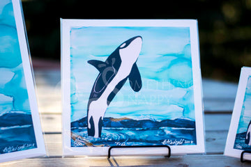 Free Orca Whale Giclee Prints