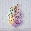 """Mermaid Soul"" Holographic die-cut stickers"