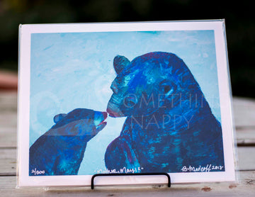Mother, May I? Alaska Bear Giclee Prints