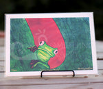 Why, Hello There Tree Frog Giclee Prints